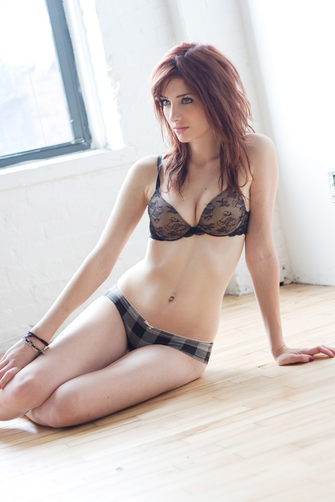 image Ruby red asian with trim pubes